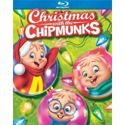 Alvin and the Chipmunks: Christmas with the Chipmunks Blu-ray Cover