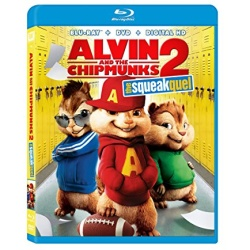 Alvin and the Chipmunks: The Squeakquel Blu-ray Cover