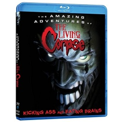 Amazing Adventures of the Living Corpse Blu-ray Cover