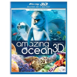 Amazing Ocean 3D Blu-ray Cover