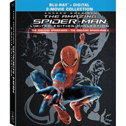 Amazing Spider-Man: Limited Edition Collection Blu-ray Cover