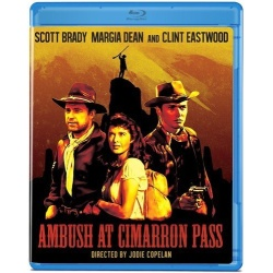 Ambush at Cimarron Pass Blu-ray Cover