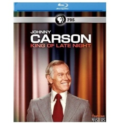 American Masters: Johnny Carson - King of Late Night Blu-ray Cover