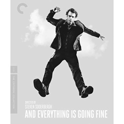 And Everything is Going Fine Blu-ray Cover