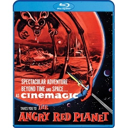 Angry Red Planet Blu-ray Cover
