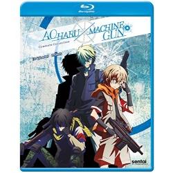 Aoharu X Machinegun Blu-ray Cover