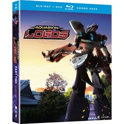 Aquarion: Logos - Part 2 Blu-ray Cover