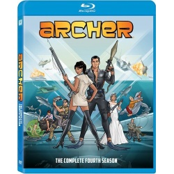 Archer: The Complete 4th Season Blu-ray Cover
