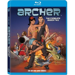 Archer: The Complete Season Two Blu-ray Cover