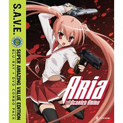 Aria the Scarlet Ammo Blu-ray Cover