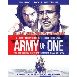 Army of One Blu-ray Cover