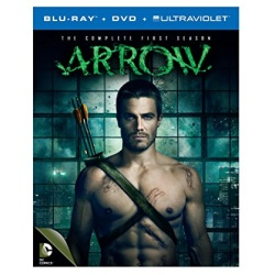 Arrow: The Complete 1st Season Blu-ray Cover