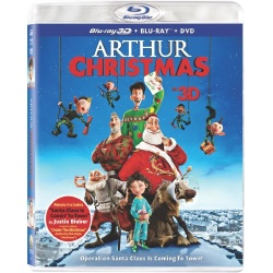 Arthur Christmas 3D Blu-ray Cover