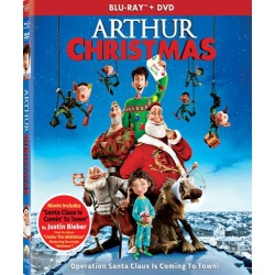 Arthur Christmas Blu-ray Cover