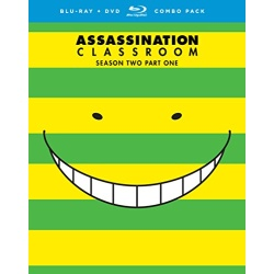 Assassination Classroom: Season 2 Part One Blu-ray Cover