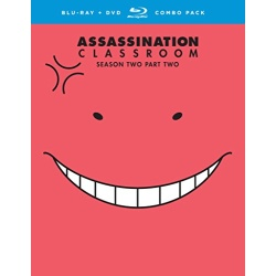 Assassination Classroom: Season 2 Part 2 Blu-ray Cover