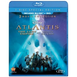 Atlantis: The Lost Empire / Atlantis: Milo's Return Blu-ray Cover