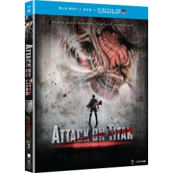 Attack on Titan: Part 1 Blu-ray Cover