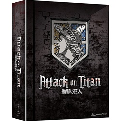 Attack on Titan: Part II Blu-ray Cover