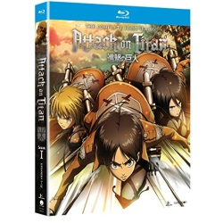 Attack on Titan: The Complete 1st Season Blu-ray Cover