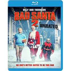 Bad Santa 2 Blu-ray Cover