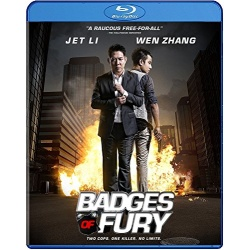 Badges of Fury Blu-ray Cover