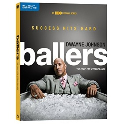 Ballers: The Complete 2nd Season Blu-ray Cover