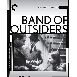 Band of Outsiders Blu-ray Cover