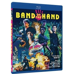 Band of the Hand Blu-ray Cover