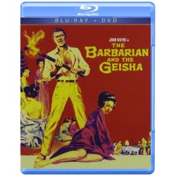 Barbarian and the Geisha Blu-ray Cover