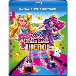 Barbie: Video Game Hero Blu-ray Cover