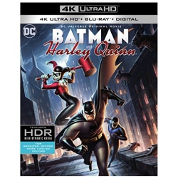 Batman and Harley Quinn Blu-ray Cover