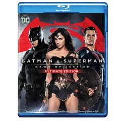Batman v Superman Dawn of Justice Blu-ray