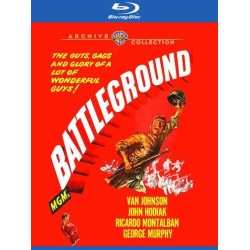 Battleground Blu-ray Cover