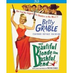 Beautiful Blonde from Bashful Bend Blu-ray Cover