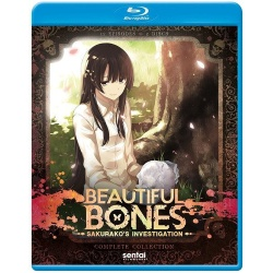 Beautiful Bones: Sakurako's Investigation Blu-ray Cover