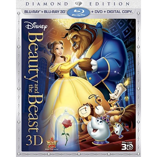 Beauty And The Beast Imdb: Beauty And The Beast 3D Blu-ray Disc Title Details