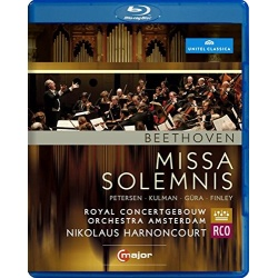 Beethoven: Missa Solemnis Blu-ray Cover