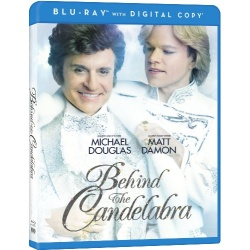 Behind the Candelabra Blu-ray Cover