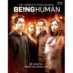 Being Human: The Complete 3rd Season Blu-ray Cover
