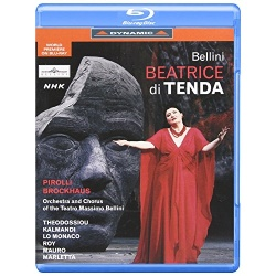Bellini: Beatrice Di Tenda Blu-ray Cover