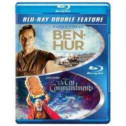 Ben Hur / Ten Commandments Blu-ray Cover