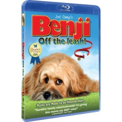 Benji: Off the Leash Blu-ray Cover