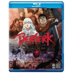 Berserk: The Golden Age Arc 1 - The Egg of the King Blu-ray Cover