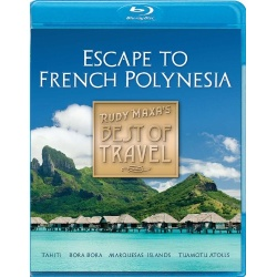 Best of Travel: Escape to French Polynesia Blu-ray Cover