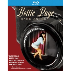 Bettie Page: Dark Angel Blu-ray Cover