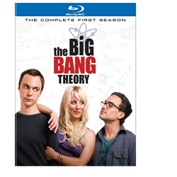 Big Bang Theory: The Complete 1st Season Blu-ray Cover