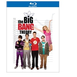 Big Bang Theory: The Complete 2nd Season Blu-ray Cover