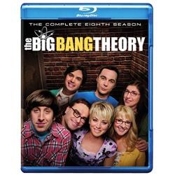 Big Bang Theory: The Complete 8th Season Blu-ray Cover