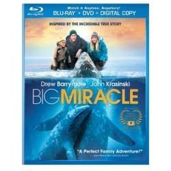 Big Miracle Blu-ray Cover